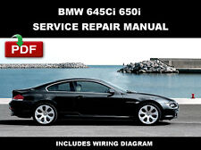 2004 2005 2006 2007 2008 2009 2010 BMW E63 E64 645Ci 650i SERVICE MANUAL