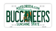 Metal Vanity License Plate Tag Cover - Tampa Bay Buccaneers - Football Team