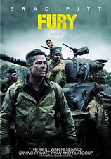 Fury (DVD, 2015, Includes Digital Copy; UltraViolet) disc & code,no BS