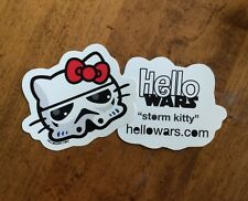 Star Wars Storm Trooper Hello Kitty Sticker Decal Hellowars Family Car Stickers