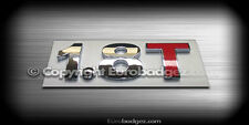1 - NEW Volkswagen VW Audi 1.8T Jetta GLI Rear chrome badge emblem (1.8T)