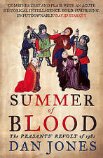 Summer of Blood: The Peasants' Revolt of 1381 (AUTHOR SIGNED)-ExLibrary