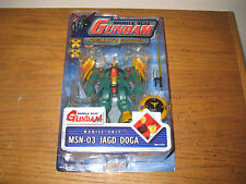 Gundam Action Figure MSN-03 Jagd Doga Green Bandai Char's Counter Attack MOC