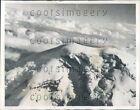 1937 Snow Covered Peak of Mount Chimborazo Ecuador Press Photo