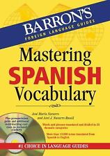 Mastering Spanish Vocabulary with Audio MP3: A Thematic Approach Barron's Forei