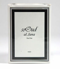 NEW SEALED SOOUD - SO OUD - Al Jana EAU Fine - 60ML SPRAY ESTRATTO DI PROFUMO