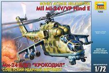 Zvezda 7293 Soviet Attack Helicopter Mil Mi-24V/VP Hind E 1/72