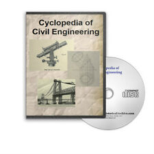 Cyclopedia of Civil Engineering 8 Volume Set on CD - D221