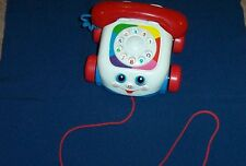 1993 Number 2251 Fisher- Price Ghatter Telephone pull toy