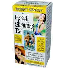 21st Century Herbal Slimming Tea Honey Lemon 24 Bags Pack of 3 (72 bags total)