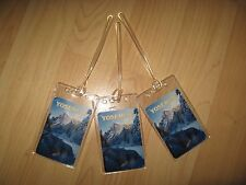 Yosemite Luggage Tags - California USA National Park Mountains Name Tag Set (3)