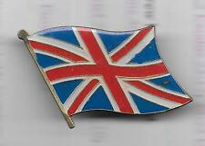 Vintage Flag of Great Britian (Union Jack) large old enamel pin