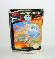 JEU NINTENDO NES ADVENTURE OF LOLO