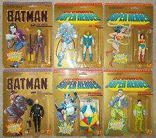 Vintage DC COMICS: Superheroes (Lot of 6) ToyBiz 1989