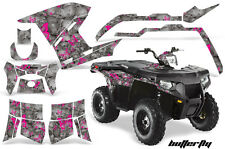 AMR Racing Polaris Sportsman800/500 Graphic Kit Quad Wrap ATV Decal 11-15 BFLY P
