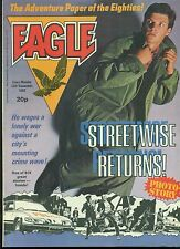 EAGLE British weekly comic book September 25, 1982 VG+ 7.62mm L1A1 Rifle illust.