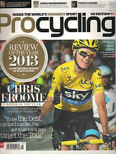 PRO CYCLING US Edition 185 2013 Chris Froome Rider of the Year Review Luke Rowe