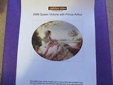 40% Off Golden Kite X-stitch chart - #2089 Queen Victoria & Prince Arthur