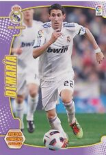 N°158 ANGEL DI MARIA # ARGENTINA REAL MADRID CARD PANINI MEGA CRACKS LIGA 2012