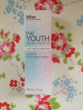 NEW⭐️BLISS⭐️The Youth As We Know It⭐️Anti-Aging Cleanser