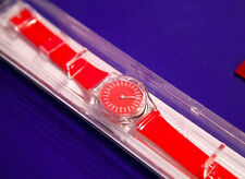 FROZEN SKY WRISTWATCH Langlands & Bell Engraved Limited Edition RED IOB Signed