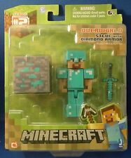 Minecraft Overworld Steve with Diamond Armor - Free Shipping!