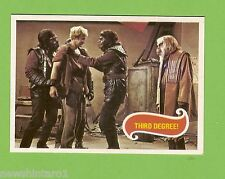 #D236. SCANLENS 1975 PLANET OF THE APES TV CARD #36  THIRD  DEGREE