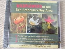 Wildflowers of San Francisco Bay Area: Interactive for PC & Mac - NEW (CD-ROM)