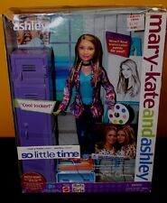Mary Kate & Ashley -Ashley 'So Little Time' 'Cool Locker' Doll - NIB