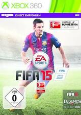Xbox 360 FIFA 15 Fussball Deutsch BRANDNEU
