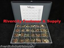 GRADE 8 NUT BOLT & WASHER ASSORTMENT KIT SCREWS 1000 Pieces