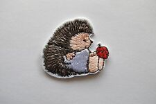 #6104 Hedgehog,Hedgie,Ladybug Embroidery Iron On Applique Patch