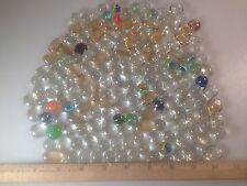 2lbs Of Mixed Marbles And Oval Glass Marbles