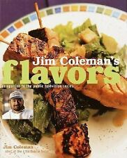 Jim Coleman's Flavors Hardcover New