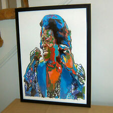 James Brown, Singer, Vocals, R&B, Funk, Godfather of Soul, 18x24 POSTER w/COA