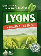Lyons Original Irish Tea. 3 x 80 Bags