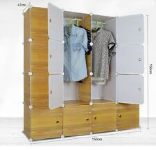 PLASTIC WARDROBE CUPBOARD ALMIRAH -LKL-80- WC- LY