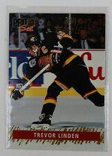 1992-93 Pro Set Hockey Trevor Linden 12 of 15 Gold Team Leader Vancouver Canucks