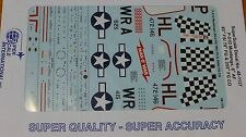 Microscale Decal 1:48 Scale #48-1137 / P-51D Mustangs: 8th AF 83rd FS/ 78th FG &