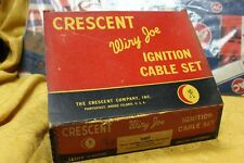 VTG DISPLAY ART NOS CRESCENT WIRY JOE IGNITION CABLE SET 1007 CHEV 6 CYL 1929-51