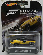 FORZA MOTORSPORTS FM 1973 73 FORD FALCON XB YELLOW 1 RACE CAR 2017 HW HOT WHEELS