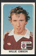 Panini 1979 Football Sticker - No 492 - Willie Gibson - Heart of Midlothian