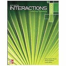 Interactions Access Listening/Speaking Student Book