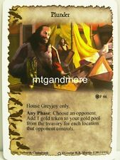 A Game of Thrones LCG - 1x Plunder #066 - Ice and Fire Draft Pack