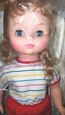"Vintage EEGEE 18"" Heavy Vinyl Drink & Wet~ Baby Carrie PlayPal Type Doll"