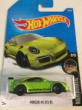 1:64 2017 Hot Wheels | Porsche 911 GT3 RS (Apple Green)