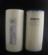 Twin Pack vatios flujo-Pro Jumbo flujo Max 4.5 X 10 filtros de 20 y 5 micras