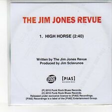 (EQ52) The Jim Jones Revue, High Horse - 2010 DJ CD