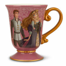 DISNEY DESIGNER FAIRYTALE COUPLE AURORA & PRINCE PHILLIP Mug New PRINCESS