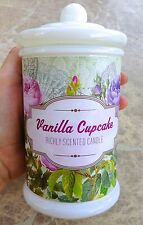 NEW RARE THE COLLECTOR RICHLY SCENTED CANDLE VANILLA CUPCAKE NET. 8.74 OZ 247 GR